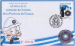 Stamps America - Ecuador -  60 Años de la Comisión de Tránsito de la Provincia del Guayas