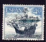 Sellos de Europa - España -  NAO SANTA MARIA