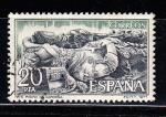 Sellos del Mundo : Europa : España : E2445 Mº SAN PEDRO DE CARDEÑA (178)
