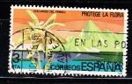 Sellos de Europa - España -  E2469 EDELWEISS DEL PIRINEO (183)