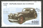 Stamps Republic of the Congo -  automóvil