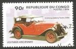 Stamps Republic of the Congo -  automóvil armstrong de 1936