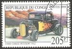 Sellos de Africa - República del Congo -  automóvil ford de 1932