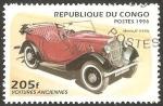 Stamps Africa - Republic of the Congo -  automóvil morris de 1938