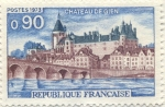 Stamps Europe - France -  Chateau de Gien