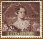 Stamps Portugal -  SS.MM. Dª MARIA II