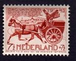 Sellos de Europa - Holanda -  DAG VAN DEN POSTZEGEL1943