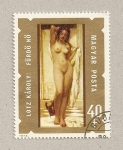 Stamps Hungary -  Desnudo
