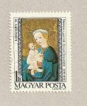 Sellos de Europa - Hungría -  Virgen con niño
