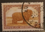 Sellos de America - Argentina -  lanas