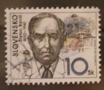 Stamps Europe - Slovenia -  stefan banic