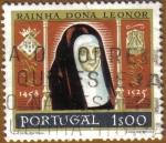 Sellos de Europa - Portugal -  RAINHA DONA LEONOR
