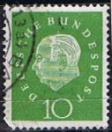 Stamps Germany -  Scott  794  Pres. Theodor Heuss (7)