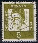 Stamps Germany -  Scott  824 Albertus Magnus