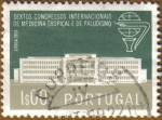 Stamps Europe - Portugal -  VI Congreso Internacional Medicina