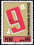 Sellos de America - Perú -  9ª FERIA INTERNACIONAL DEL PACÍFICO