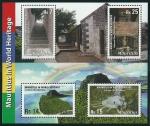 Stamps Mauritius -  Paisaje cultural del Morne y Aapravasi Ghat