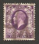 Stamps United Kingdom -  192 - George V