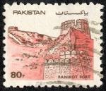Sellos de Asia - Pakistán -  Edificios y monumentos