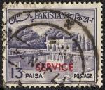 Stamps Pakistan -  Edificios y monumentos