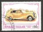 Stamps Africa - Togo -  automóvil rolls royce de 1950