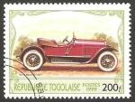 Stamps Togo -  automóvil stutz bearcat de 1921