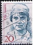 Stamps Germany -  Scott  1477  Cilly Aussem