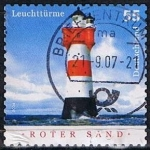 Sellos de Europa - Alemania -  Scott  2291  Faros (Roter Sand) (4)