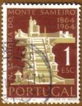 Sellos de Europa - Portugal -  CENTENARIO DO SAMEIRO