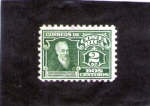 Stamps America - Costa Rica -  DON RODRIGO ARIAS MALDONADO Y VELASCO