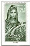 Stamps Spain -  SAHARA EDIFIL 230 (1 SELLO)