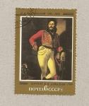 Sellos de Europa - Rusia -  retrato de un oficial