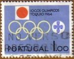 Stamps of the world : Portugal :  Juegos Olimpicos TOKYO 1964