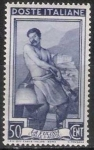 Stamps of the world : Italy :  Italia 1950 Scott 549 Sello º Oficios La Fucina Valle d