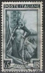 Stamps of the world : Italy :  Italia 1950 Scott 565 Sello º Oficios la Canapa Emilia Romagna 65L Timbre Italie Italy