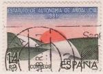 Sellos del Mundo : Europa : España : Estatuto de Autonomia de Andalucía 1981