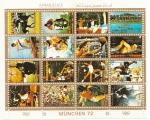 Stamps Asia - United Arab Emirates -  AJMAN - Olimpiadas (Munich '72)