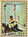 Stamps United Arab Emirates -  AJMAN - Deportes 4