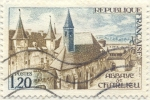 Stamps France -  Abaye de Charlieu