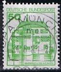 Stamps Germany -  Wasspschloss Inzlngen (4)