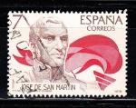 Sellos de Europa - España -  E2489 JOSE DE SAN MARTIN (192)