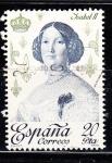 Sellos de Europa - España -  E2502 Isabel II (199)
