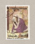 Stamps São Tomé and Príncipe -  Navidad 1969