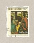 Stamps Guinea Bissau -  Adoración de los reyes magos