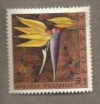 Sellos de Europa - Polonia -  Strelitzia reginae