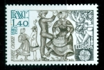 Sellos de Europa - Francia -  Danza. Europa CEPT