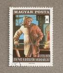 Sellos de Europa - Hungría -  altos hornos