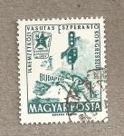 Stamps Hungary -  Congreso Esperanto en Budapest