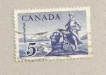 Sellos de America - Canadá -  Verendrye, reserva natural de Quebec