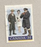 Sellos de America - Canadá -  Fuerzas navales